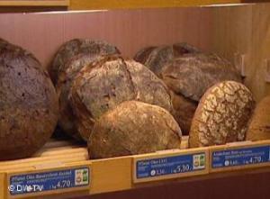 Lots of types of bread in Munich Hofpfisterei's bread is very good.